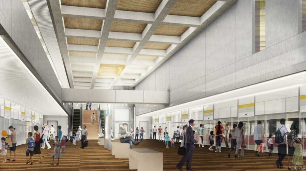 avenue_south_residence-keppel_mrt_station_interior