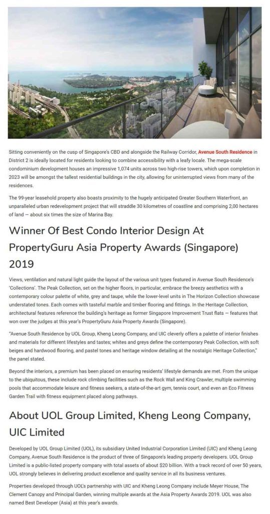 Avenue-South-Residence-developed-By-UOL-Group-Limited-Kheng-Leong-Company-UIC-Limited